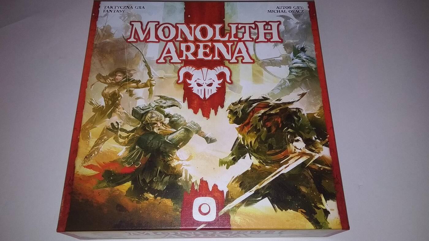 Monolith Arena pudło