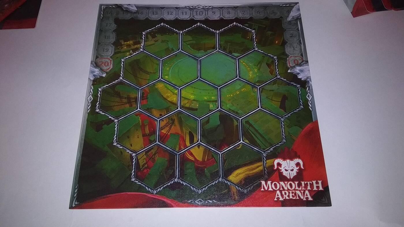 Monolith Arena plansza