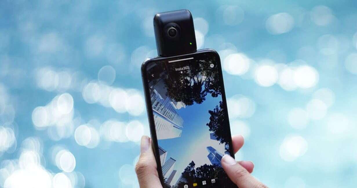 Insta360 Nano S iPhone VR, kamera 360°, kamera iphone, 360 iphone