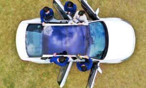 Hyundai i Kia będą wyposażać samochody w panele słoneczne