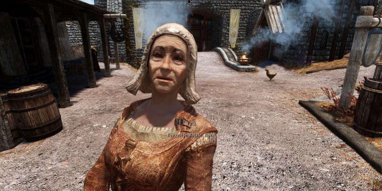 Powstała petycja o dodanie starszej pani do The Elder Scrolls 6
