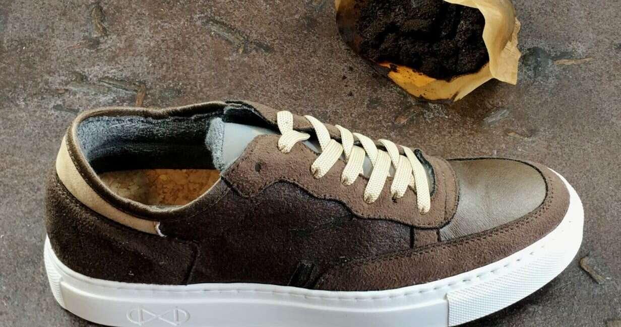 buty, ekologiczne buty, luksusowe buty, buty z kawy, buty z recyklingu
