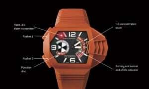 Co powiecie na zegarek wykrywający siarkowodór?