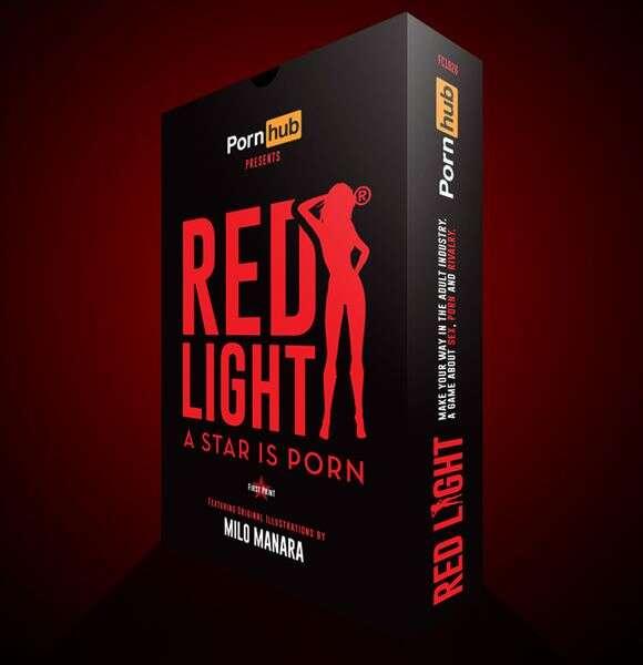 Red Light: A Star is Porn tło