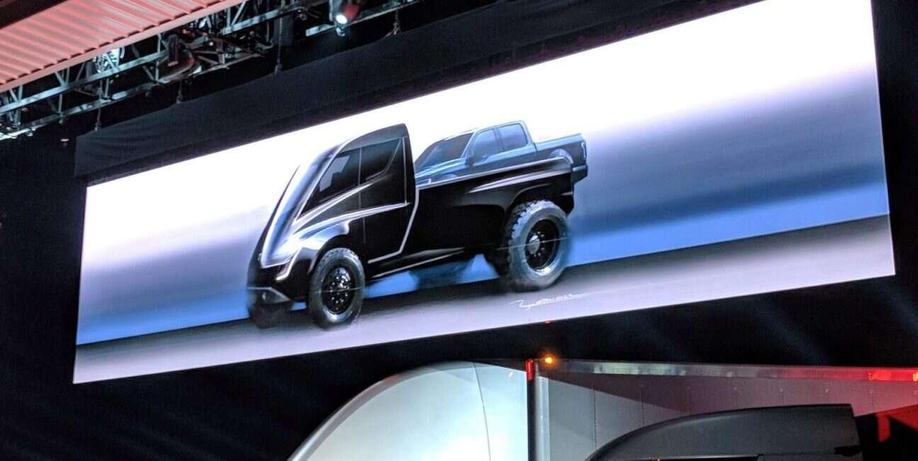 Pickup rodem z Blade Runnera od Elona Muska