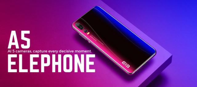 ELephone A5, film ELephone A5, zdjęcie ELephone A5, wygląd ELephone A5, cena ELephone A5