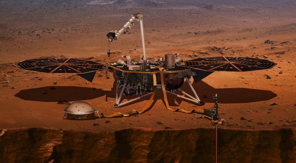 NASA, insight, lądowanie insight, transmisja insight, nasa insight