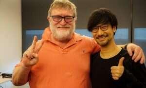 Hideo Kojima z wizytą u Gabe Newella