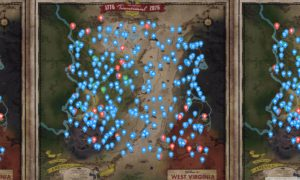 Interaktywna mapa Fallout 76 w przeglądarce od fana