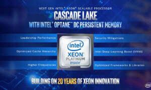 Sklejanie procesorów à la Intel, czyli zapowiedź Cascade Lake-AP