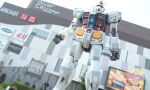 Statua Gundam wkrótce zacznie się poruszać!