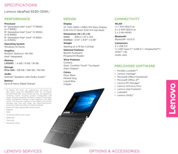 Przeciek od Lenovo wskazuje na mobilne Intel Core 9. generacji