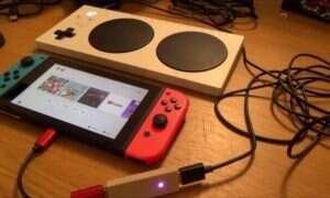 Xbox Adaptive Controller współpracuje z Nintendo Switch!