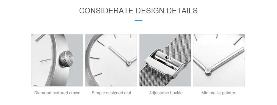 zegarek Xiaomi, tradycyjny zegarek xiaomi, zegarek kwarcowy xiaomi, cena Xiaomi TwentySeventeen, TwentySeventeen