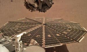 Lądownik InSight nagrał dźwięk wiatru na Marsie
