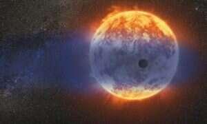 """Naukowcy zaobserwowali """"gorącego Neptuna"""" który znika w niezwykłym tempie"""