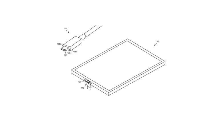 microsoft, patent microsoft, usb-c microsoft, patent usb-c, surface microsoft,