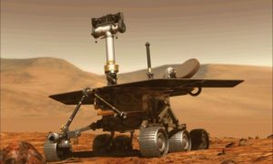 Czym są błyszczące skały na Marsie?