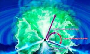 Jak wyglądają formacje tworzone przez gazy wokół czarnych dziur?