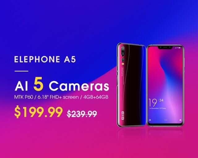 Elephone A5, zdjęcia Elephone A5, aparat Elephone A5, aparaty Elephone A5, jakość zdjęć Elephone A5
