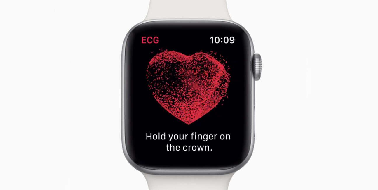 Apple Watch, Apple Watch EKG, EKG Apple Watch, ratowanie życia Apple Watch, serce Apple Watch,