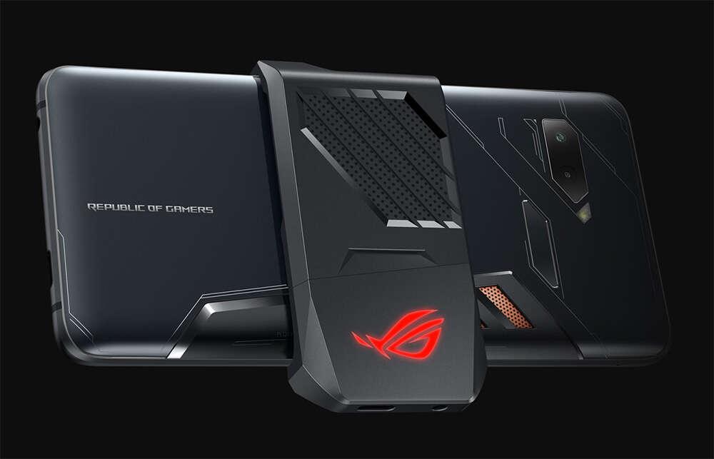 Asus ROG Phone, ładowanie Asus ROG Phone, porty Asus ROG Phone, USB-C Asus ROG Phone, samoładowanie Asus ROG Phone