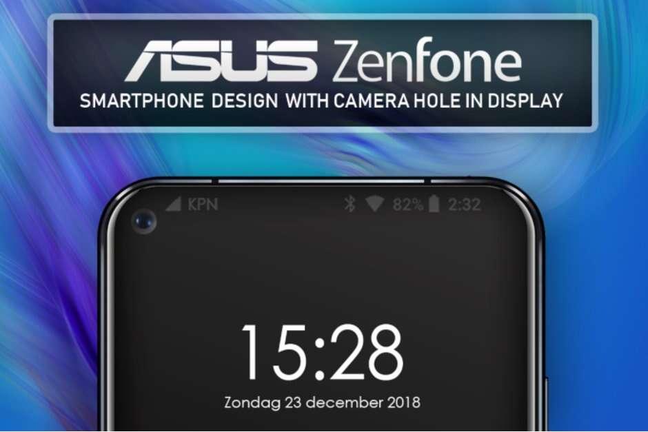Asus, smartfon, otwór w ekranie, telefon asus, wysuwany mechanizm asus