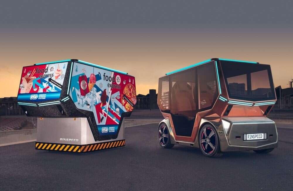 Autonomiczne samochodo-pody microSNAP od Rinspeed