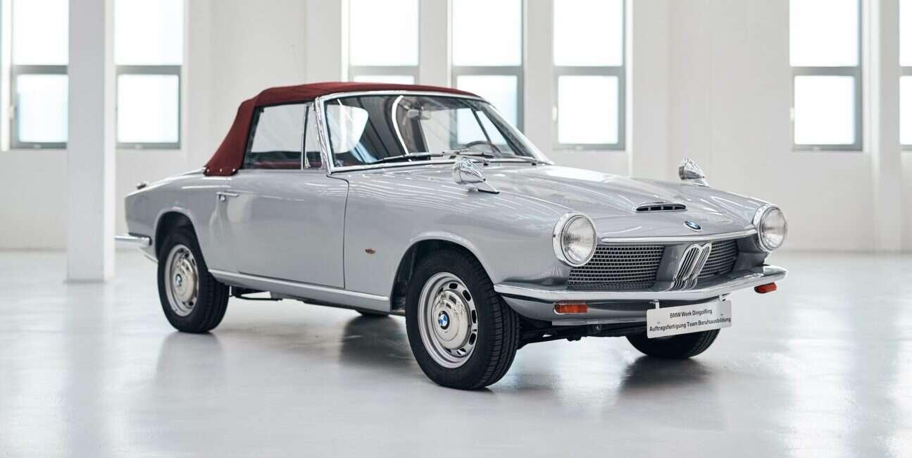 BMW odrestaurowało jedynego na świecie kabrioleta 1600 GT