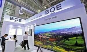 BOE zainwestuje 6,7 miliarda dolarów w kolejną generację wyświetlaczy