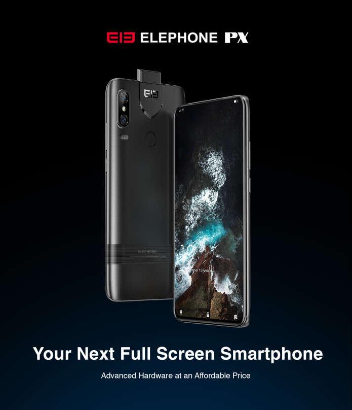 Elephone PX, cena Elephone PX, specyfikacja Elephone PX, parametry Elephone PX, indiegogo Elephone PX