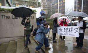 CFO Huawei zwolniona za kaucją