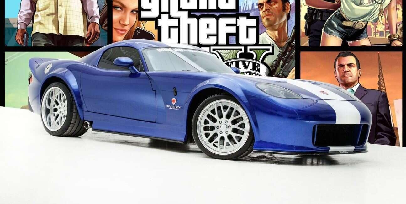 Dodge Viper SRT-10 w wydaniu Bravado Banshee z GTA V sprzedany!