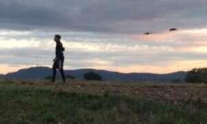 Drony mogą się przydać w prostych sesjach motion-capture