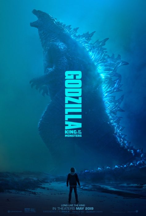 Plakaty z filmu Godzilla: King of the Monster. Legendarne potwory w pełnej krasie
