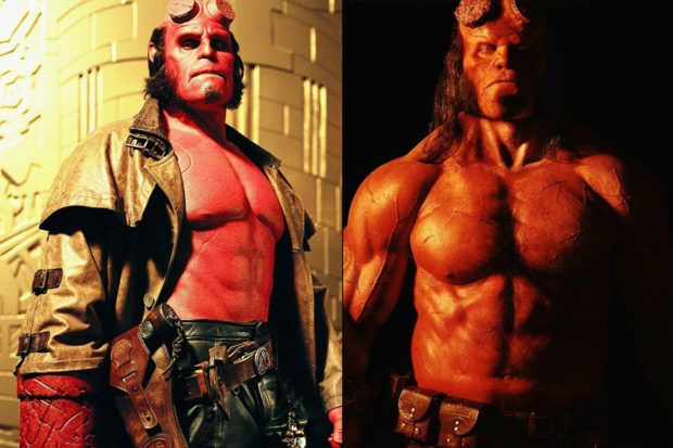 Różne wcielenia Hellboya. Różnice między rolą Harboura i Perlmana