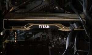 Flagowa karta NVIDIA RTX Titan na zdjęciach
