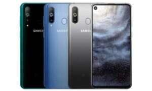 Samsung Galaxy S10 z pierścieniem LED wokół aparatu