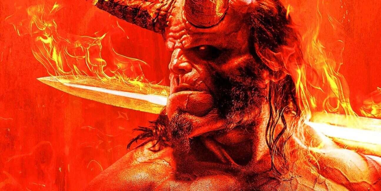 Demoniczny plakat i data premiery zwiastuna Hellboya!