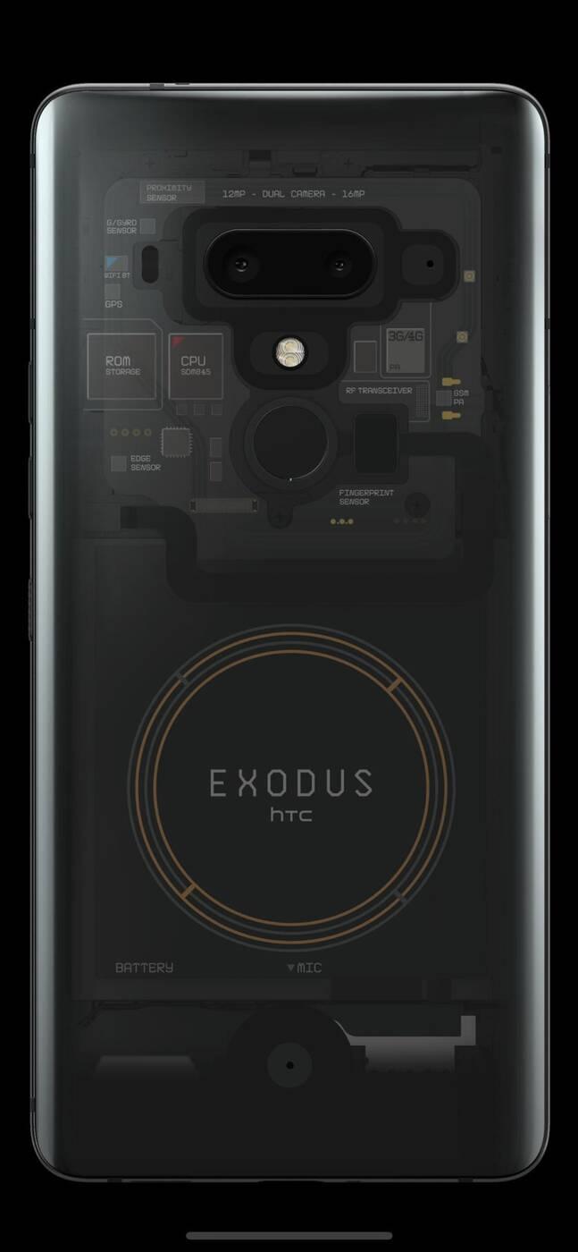 HTC Exodus 1, blockchain smartfon, sprzedaż HTC Exodus 1, polska HTC Exodus 1