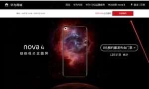Huawei Nova 4 w nowym kolorze