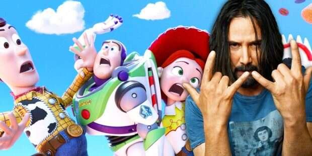 Jak to się stało, że Keanu Reeves znalazł się w obsadzie Toy Story 4?