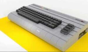Komputer Commodore 64 do kupienia i do zrobienia z klocków LEGO