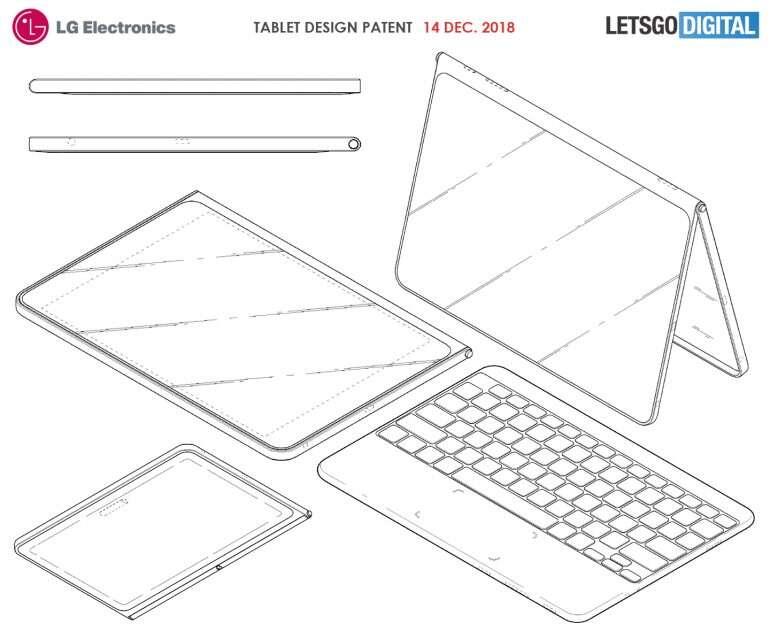 LG, tablet LG, patent LG, patent tablet LG, nowy tablet LG,