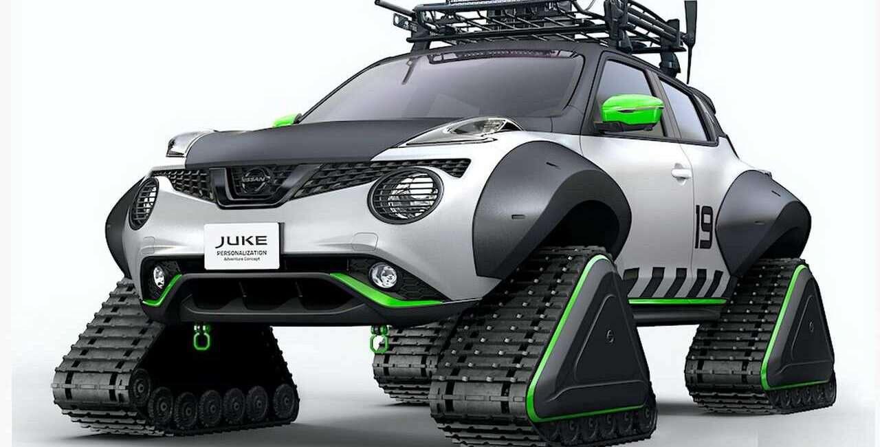 Koncept Nissan Juke kopie zimie du... tyłek