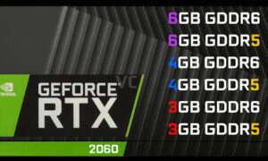 Sześć wariantów karty Nvidia GeForce RTX 2060