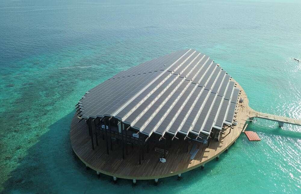 Otwarto ośrodek bazujący na energii słonecznej na Malediwach