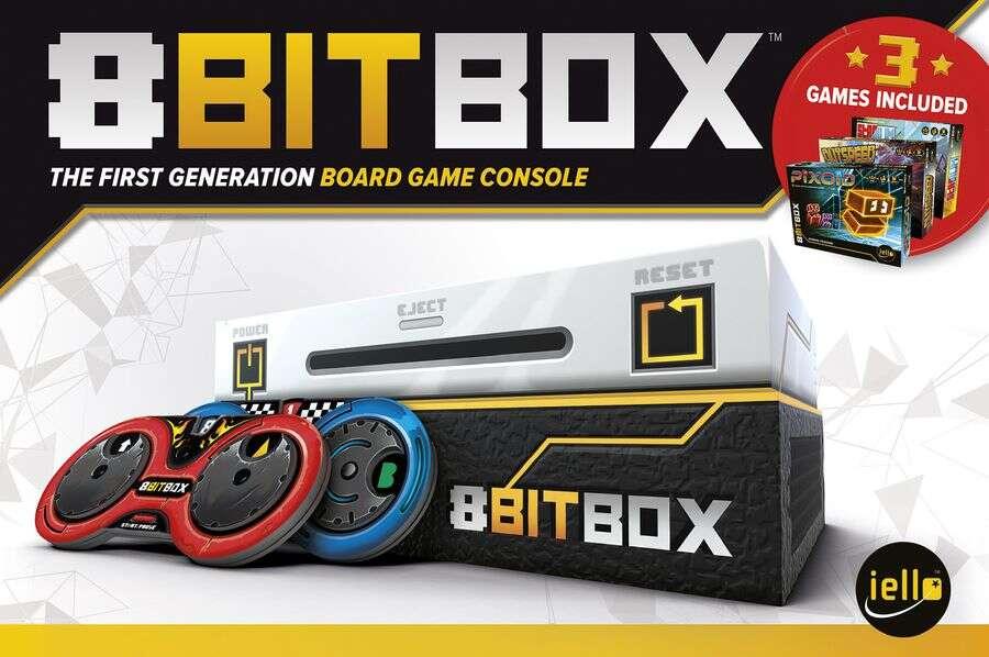 8bit Box tło