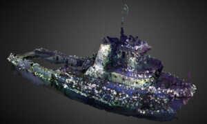 Trójwymiarowy model statku pozwala odtworzyć jednostkę, która zatonęła przed laty