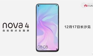 Kolejny teaser Huawei Nova 4